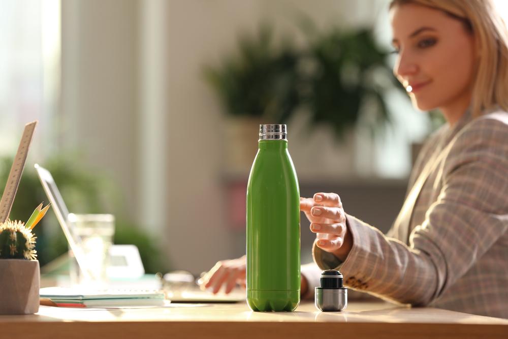 gepersonaliseerde fles